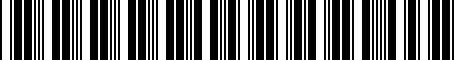 Barcode for 000061125D