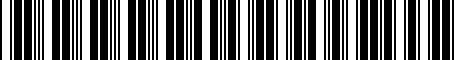 Barcode for 000061127B